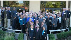 Group photo of County Agricultural Commissioners