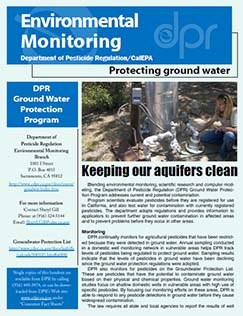 Protecting Ground Water Fact Sheet