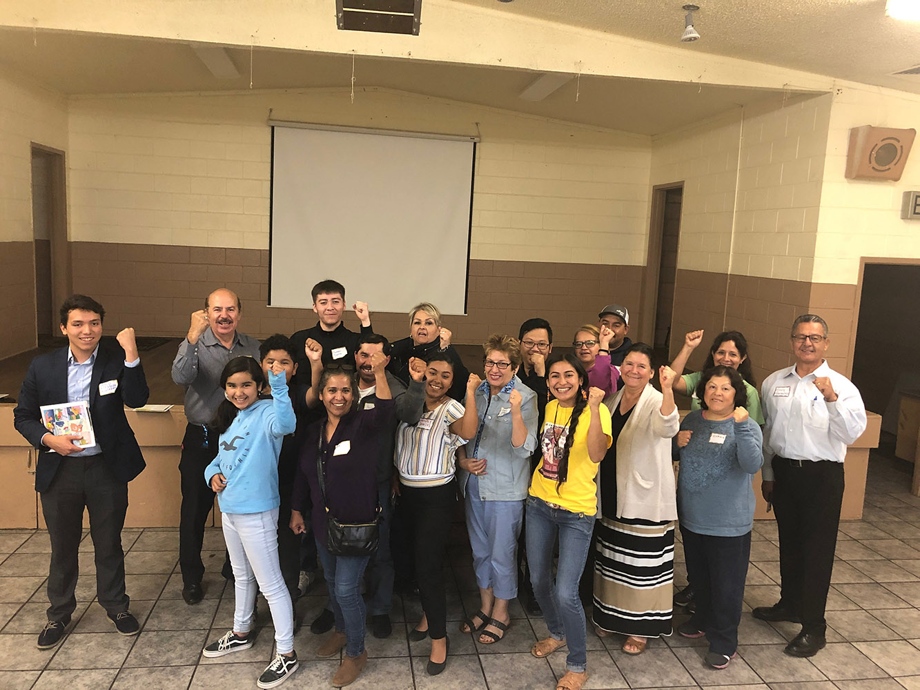 COMMUNITY MEETING – AUGUST 5TH, GONZALES CA GROUP PHOTO