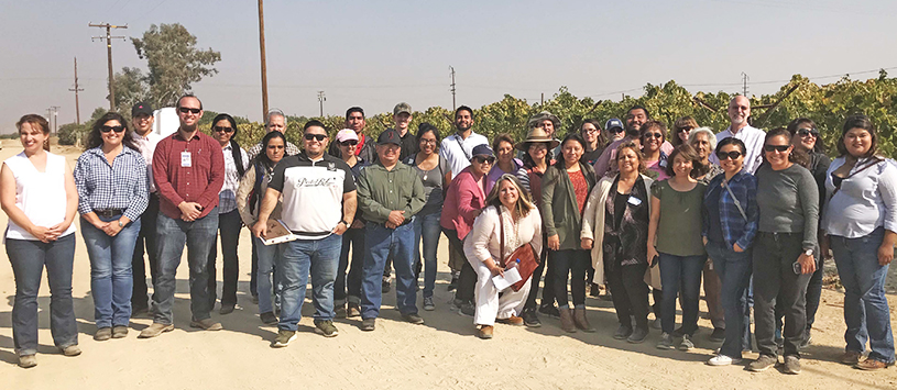 Environmental Justice DPR Pesticide Enforcement Workshops, held in conjunction with Kern CAC and CCEJN, Oct. 2017.