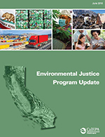 CalEPA Environmental Justice Program Update: 2013-2015 cover.