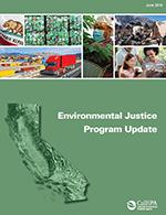 CalEPA Environmental Justice Program Update: 2013-2015 cover.