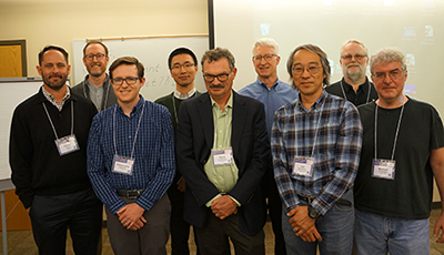 Grant recipients Darren Haver, Jay Rosenheim, Chris Simmons, Dong Hwan Choe, Steve Fennimore, Joji Muramoto, Dan Legard, and Mike Grieneisen pose for a photo with DPR Director Brian Leahy (back row, third from left).